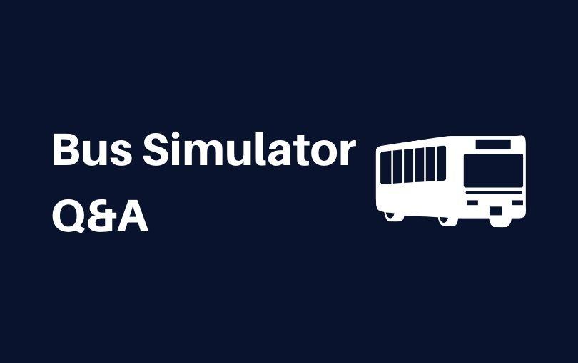 【PS4】Bus Simulator(バスシミュレーター)攻略Q&A【チュートリアル】
