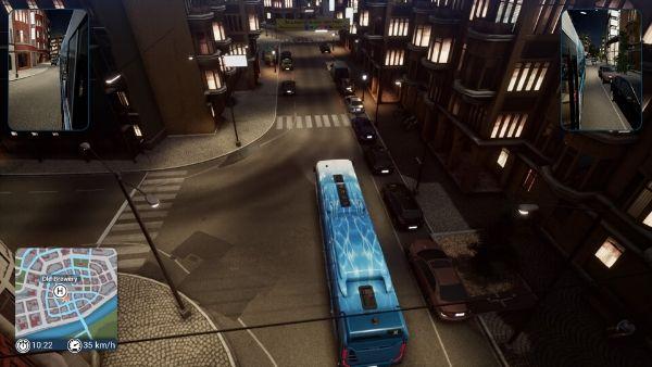 バスシミュレーター 俯瞰
