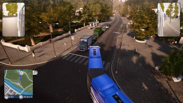 バスシミュレーター 連節バス