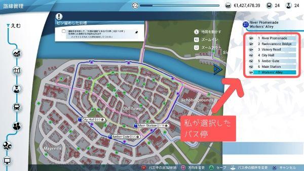 運転手を利用して、外環状道路にあるバス停(全6か所)を接続した路線から収益を生み出す