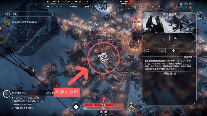 PS4『Frostpunk』攻略「ウインターホームの滅亡」04