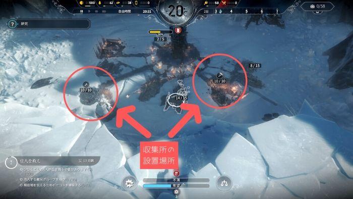 PS4『Frostpunk』攻略「難民」03