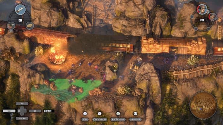 PS4『Desperados III』レビュー15