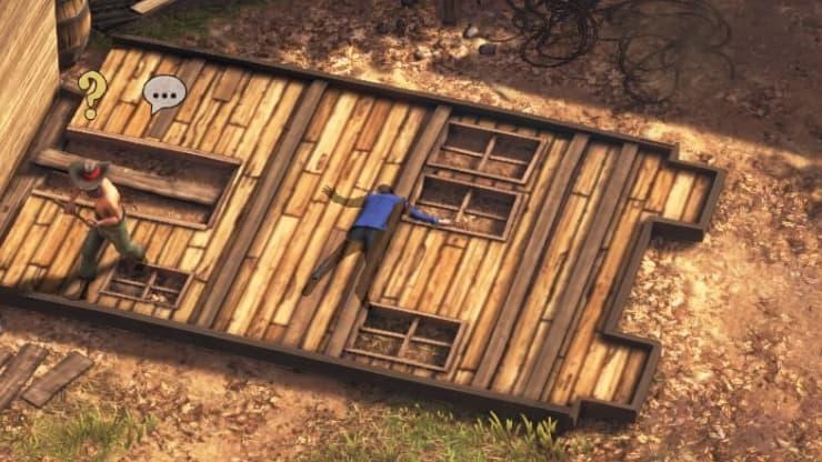 『Desperados III』攻略:チャプター1-3 フラッグストーンの無頼漢41