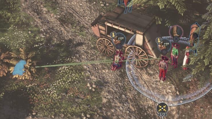 『Desperados III』攻略:チャプター1-4 死が二人を分かつまで41